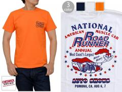 ROAD RUNNER半袖Tシャツ「AUTO SHOWS」◆Cheswick