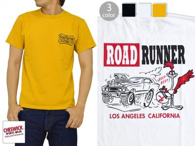 ROAD RUNNER半袖Tシャツ「LA. CALIFORNIA」◆Cheswick