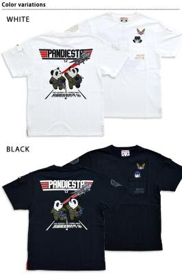 PJ-AIR FORCE半袖Tシャツ◆PANDIESTA JAPAN