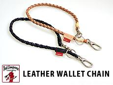LEATHER WALLET CHAIN◆TEDMAN(テッドマン)