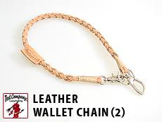 LEATHER WALLET CHAIN(2)◆TEDMAN(テッドマン)