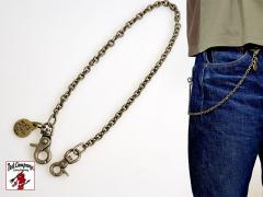 BRASS WALLET CHAIN◆TEDMAN/テッドマン