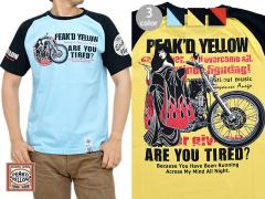 CHOPPER半袖Tシャツ◆Peak'd Yellow