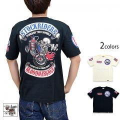 STOCK RIDER半袖Tシャツ◆BLOOD MESSAGE