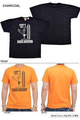 ROAD RUNNER半袖Tシャツ「SURF'S UP」◆Cheswick
