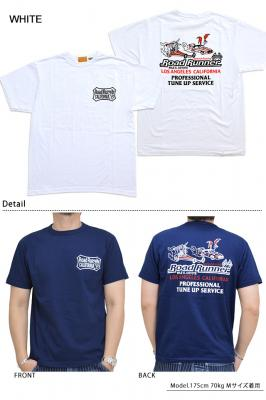 ROAD RUNNER半袖Tシャツ「TUNE UP SERVICE」◆Cheswick